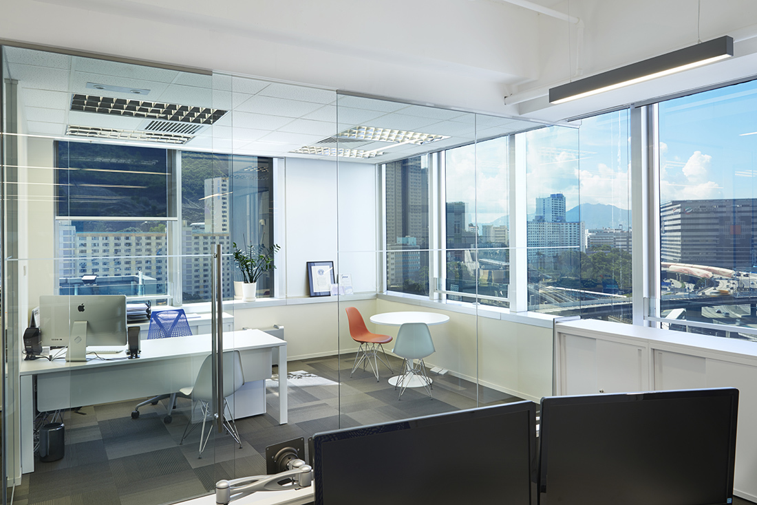 office space hong kong. Lightswitch Hong Kong Partnered With Ptarmigan And Interior Designer Yeo Studio To Fit Out The 3,600-square-foot Commercial Office Space Lighting That