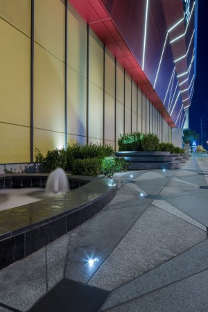 Lighting for the hotel casino and restaurants all within the finite budget requirements set by the u s china investment visa program